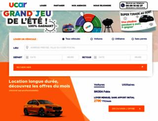 ucar.fr screenshot