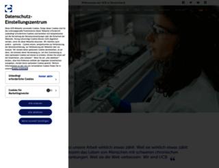 ucb.de screenshot