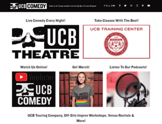 ucbcomedy.com screenshot