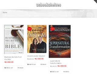ucbookshelves.com screenshot