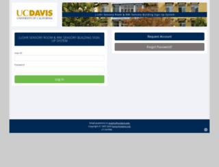 ucdavis-viticultureandenology.sona-systems.com screenshot
