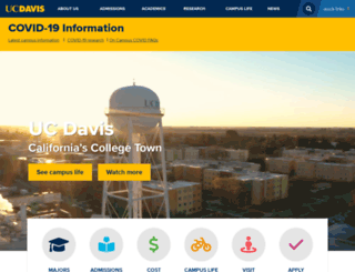 ucdavis.edu screenshot