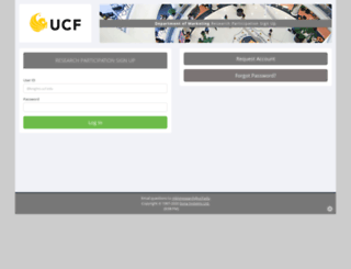 ucf-marketing.sona-systems.com screenshot