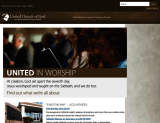 ucg.org screenshot