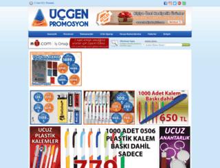 ucgenpromosyon.com screenshot