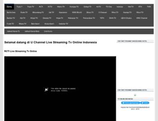 uchanneltv.blogspot.com screenshot