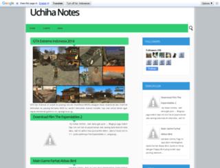 uchiha-notes.blogspot.com screenshot