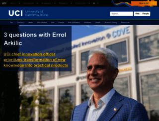 uci.edu screenshot