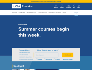 uclaextension.edu screenshot