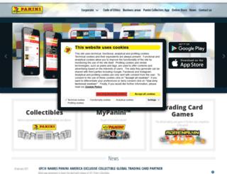 uclstickers.paninigroup.com screenshot