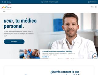 ucm.com.uy screenshot
