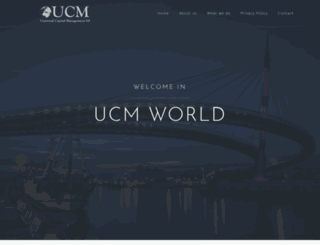 ucmholding.com screenshot
