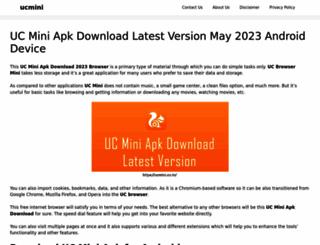 ucmini.co.in screenshot