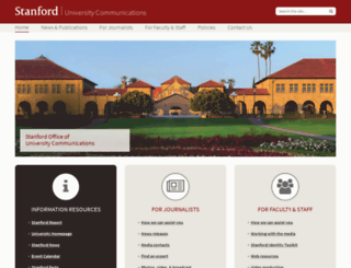 ucomm.stanford.edu screenshot