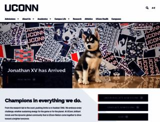 uconn.edu screenshot