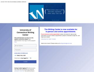 uconn.mywconline.com screenshot
