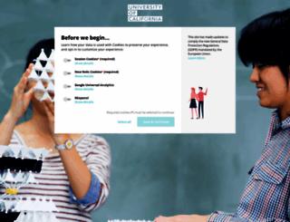 ucop.webdamdb.com screenshot