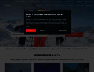 ucpa.fr screenshot
