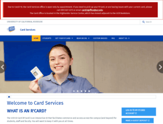 ucrcard.ucr.edu screenshot