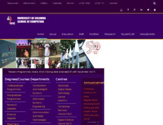 ucsc.cmb.ac.lk screenshot