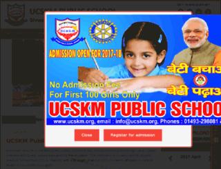 ucskm.org screenshot