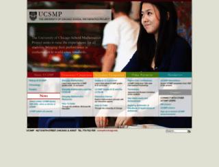 ucsmp.uchicago.edu screenshot