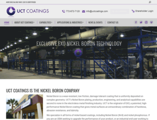 uctcoatings.com screenshot
