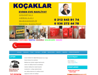 ucuzanakliyat.com screenshot