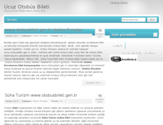 ucuzotobusbileti.org screenshot