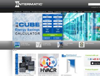 ucweb.intermatic.com screenshot