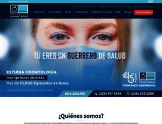 ucx.mx screenshot