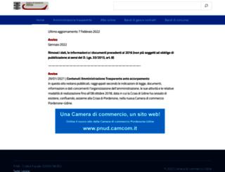 ud.camcom.it screenshot