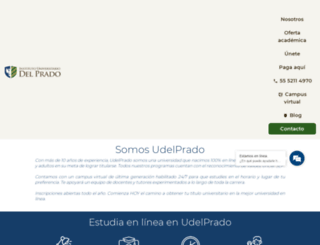 udelprado.mx screenshot