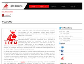 udem-indonesia.co.id screenshot