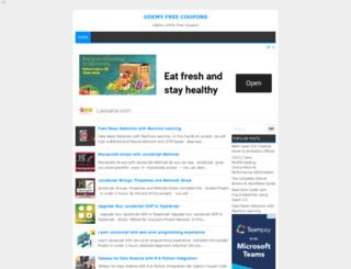 udemy-free-coupons.blogspot.com screenshot