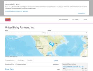 udfhiring.com screenshot