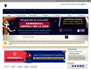 udg.mx screenshot