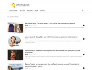 udinecultura.it screenshot