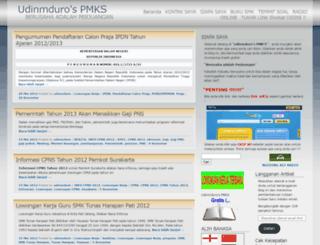 udinmduro.wordpress.com screenshot