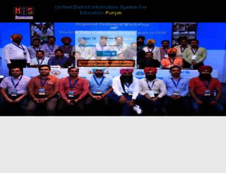 udise.ssapunjab.org screenshot
