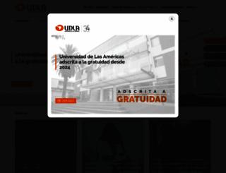 udla.cl screenshot