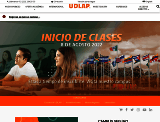 udlap.mx screenshot