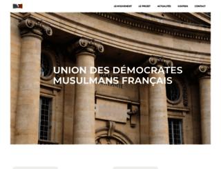udmf.fr screenshot