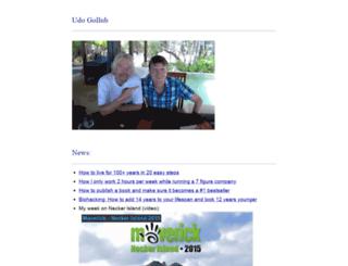 udo-gollub.de screenshot