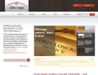 udolegal.com screenshot