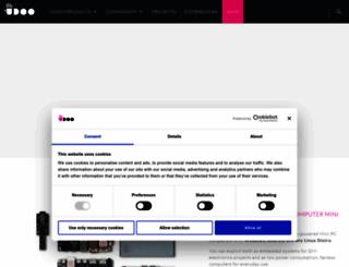 udoo.org screenshot