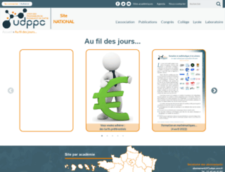 udppc.asso.fr screenshot