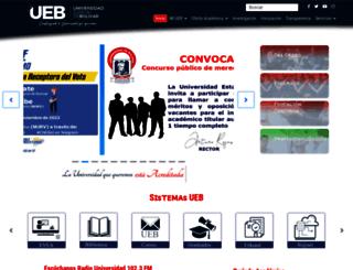 ueb.edu.ec screenshot
