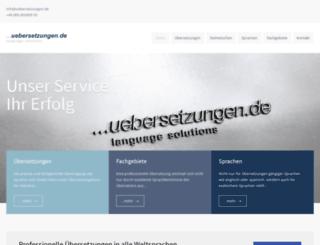 uebersetzungen.de screenshot