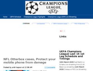 uefachampionsleague2015live.com screenshot